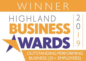 Highland Business Awards 2019 winner