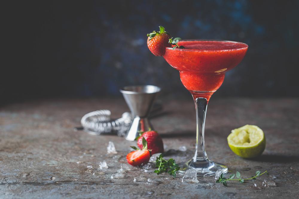 Berry cocktails - Strawberry Daiquiri