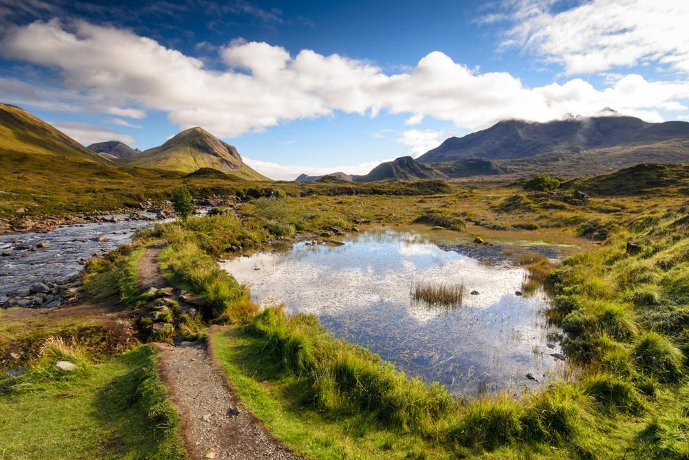 Sligachan on the Isle of Skye