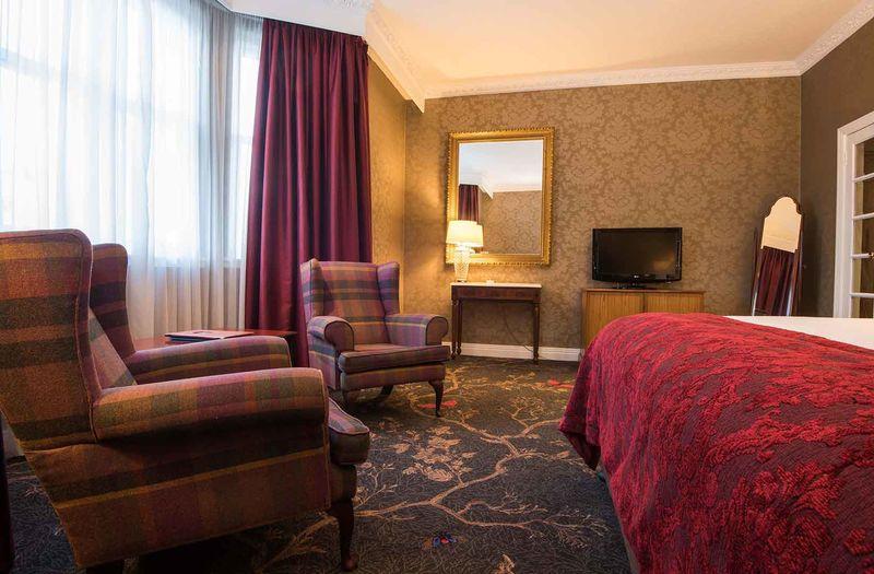 Seating in Kingsmills Hotel bedroom