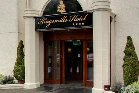 The entrance at Kingsmills Hotel