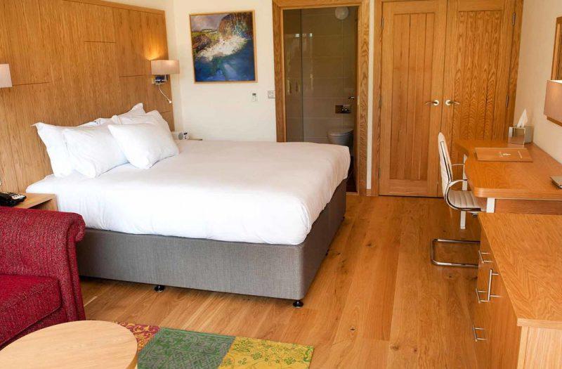 Inside a Garden Room at Kingsmills Hotel