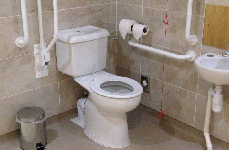 An accessible bathroom at Kingsmills Hotel
