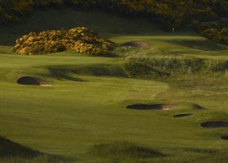 A golf green