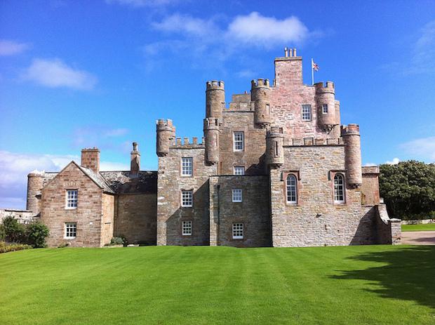 Castle of Mey in Scotland