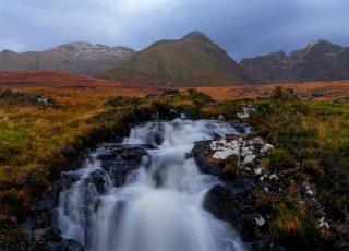 A river on the Isle of Skye