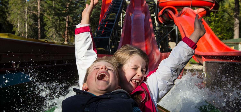 Kids at Water Slide