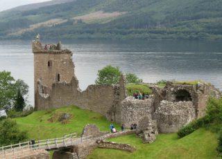 Urquhart Castle on Loch Ness, near the Kingsmills Hotel, Inverness