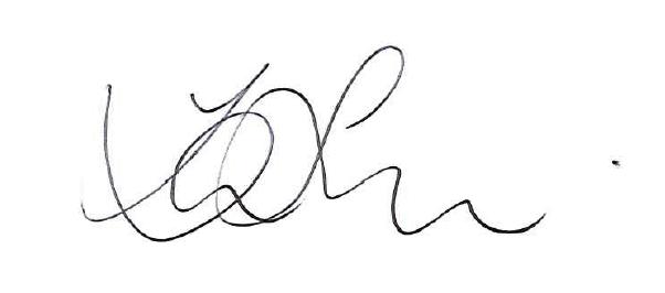 Tony Story Signature