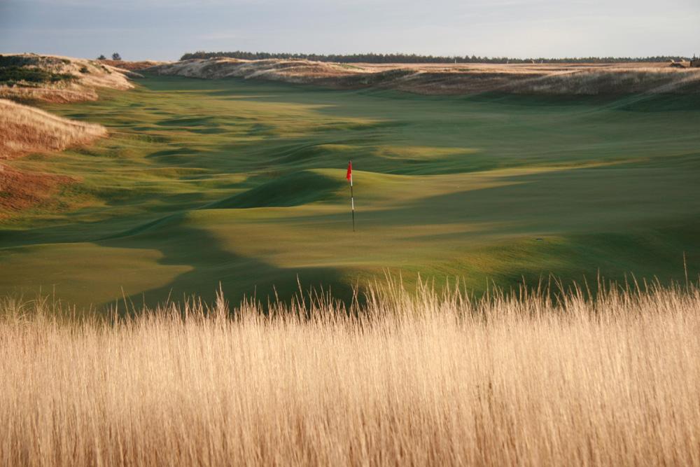 14th hole at Castle Stuart Golf Links