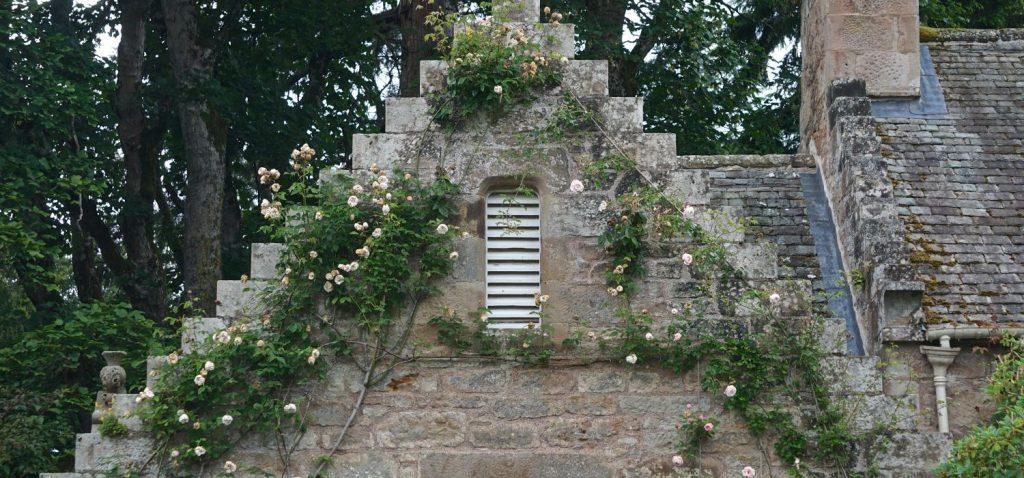 A gorgeous close up of a castle window